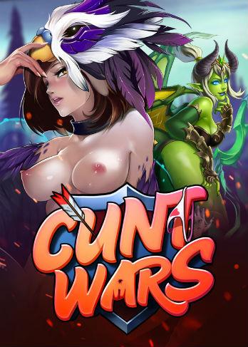 Эротическая онлайн игра Cunt Wars